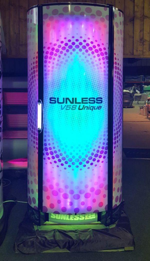 מקלחון שיזוף SUNLESS 58 9