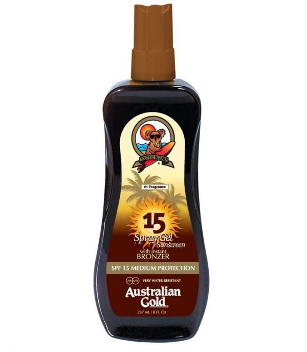 AUSTRALIAN GOLD SPF 15 SPRAY GEL BRONZER 1
